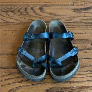 Birkenstock black Mayari strappy sandals size 8
